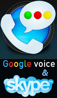 google voice skype