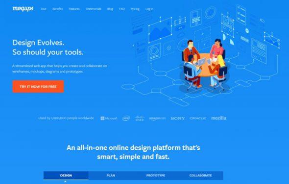 Сервис Moqups.com