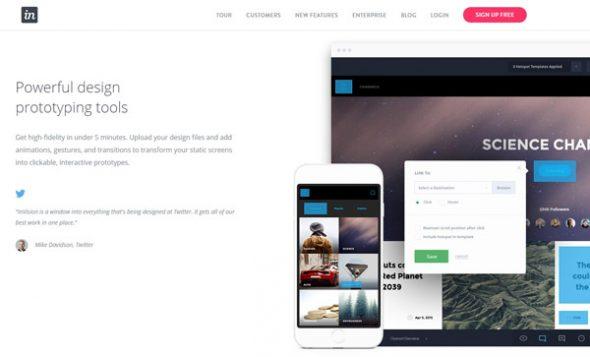 Сервис InVision App