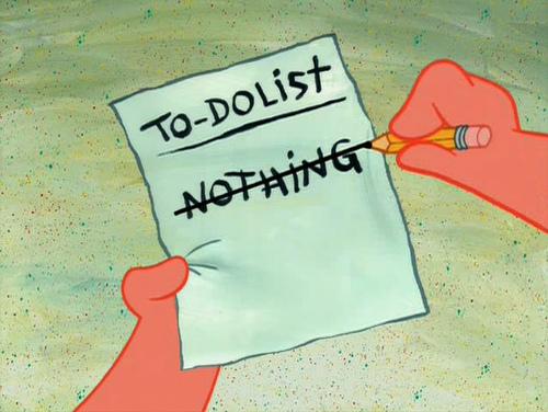 Список невыполненных дел