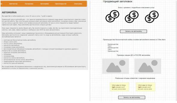 Проектирование и улучшение посадочных страниц
