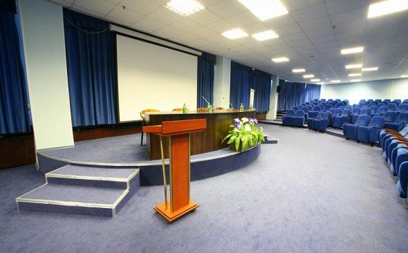 Конференц-зал «Сапфир» гостиницы «Салют»