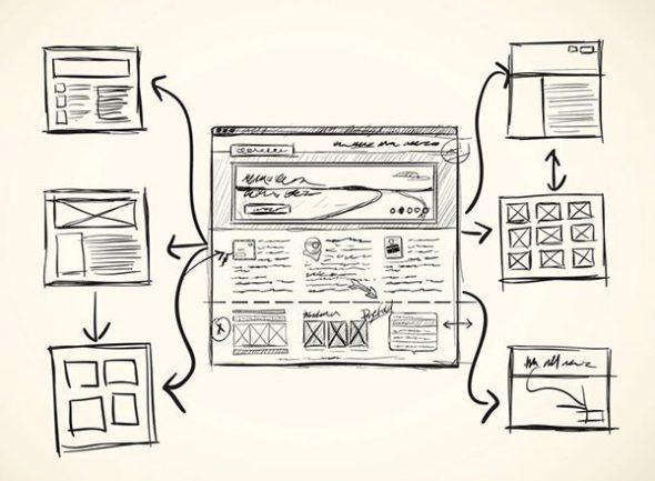Проектирование архитектуры сайта