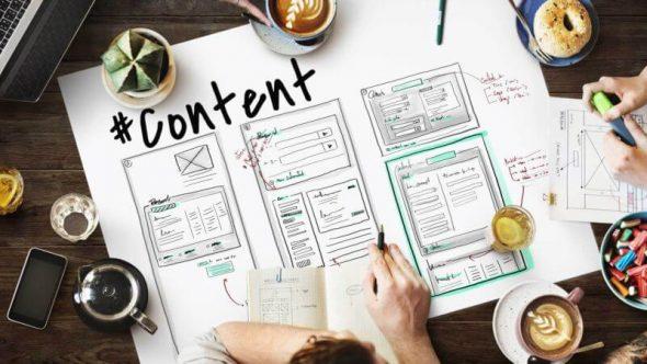 План по работе над контентом