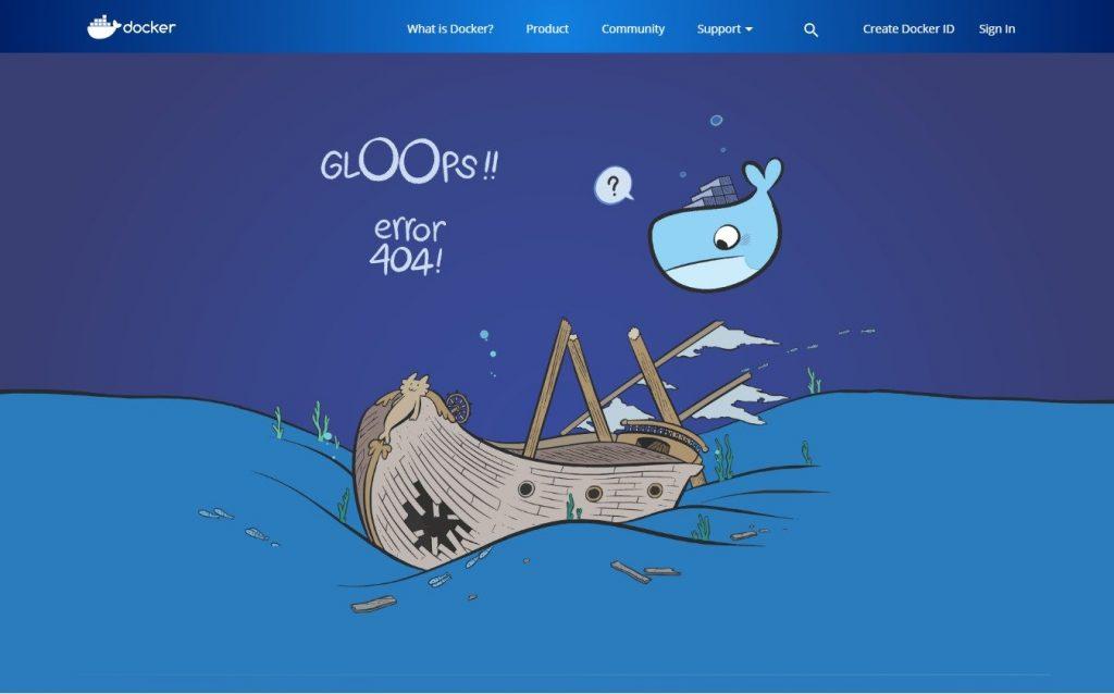 Пример страницы 404 #4